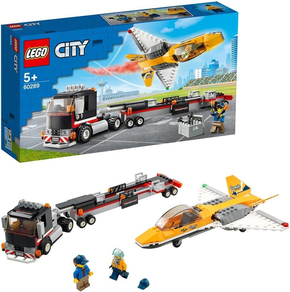 LEGO City Flugshow-Jet-Transporter