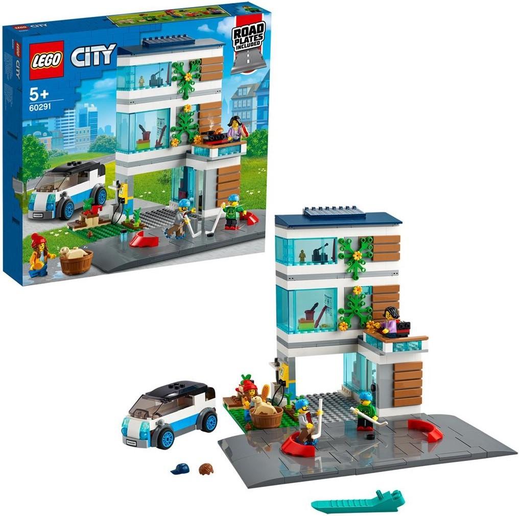LEGO City Modernes Familienhaus
