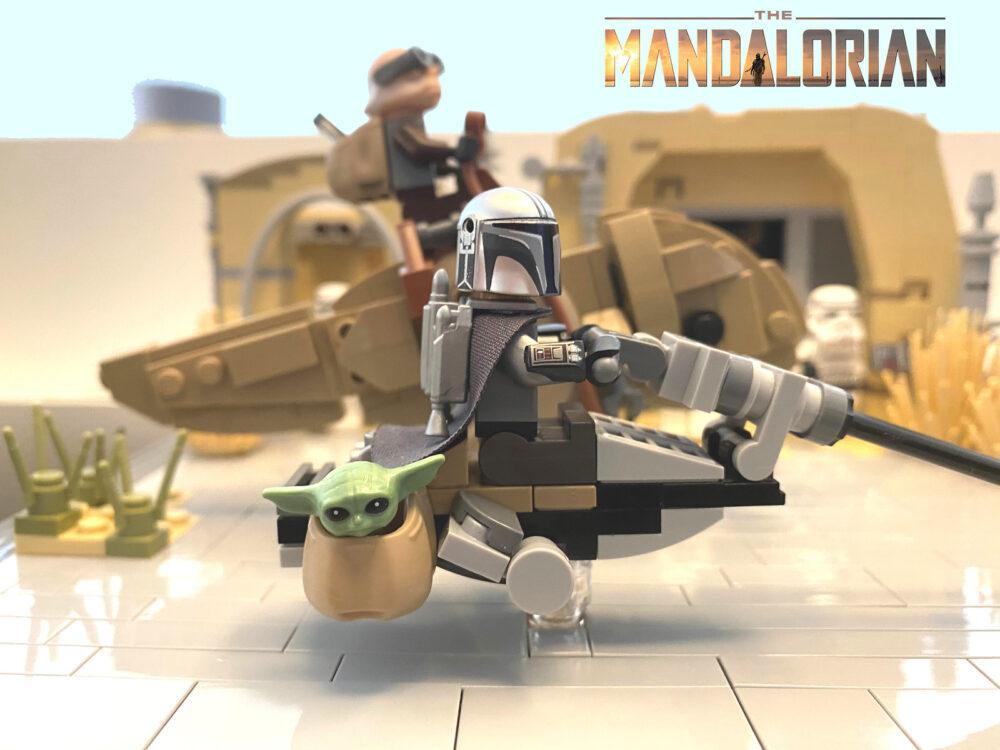LEGO Star Wars Mandalorian MOC