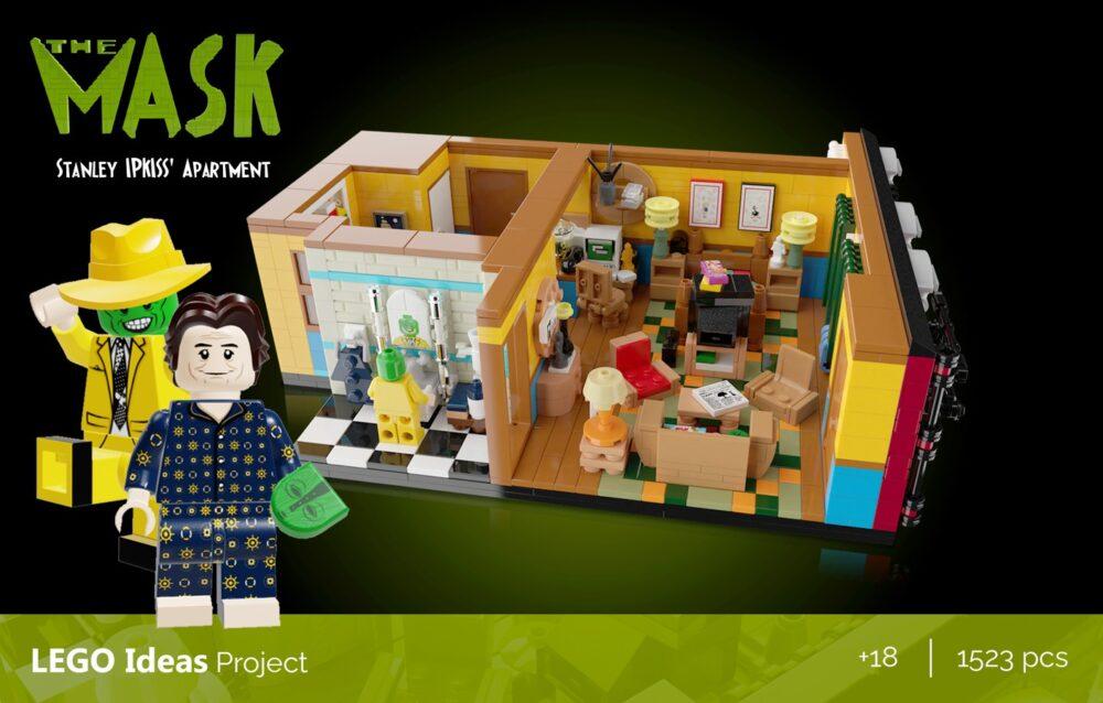 LEGO Ideas Die Maske