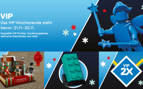 LEGO VIP-Wochenende am 21. - 22. November