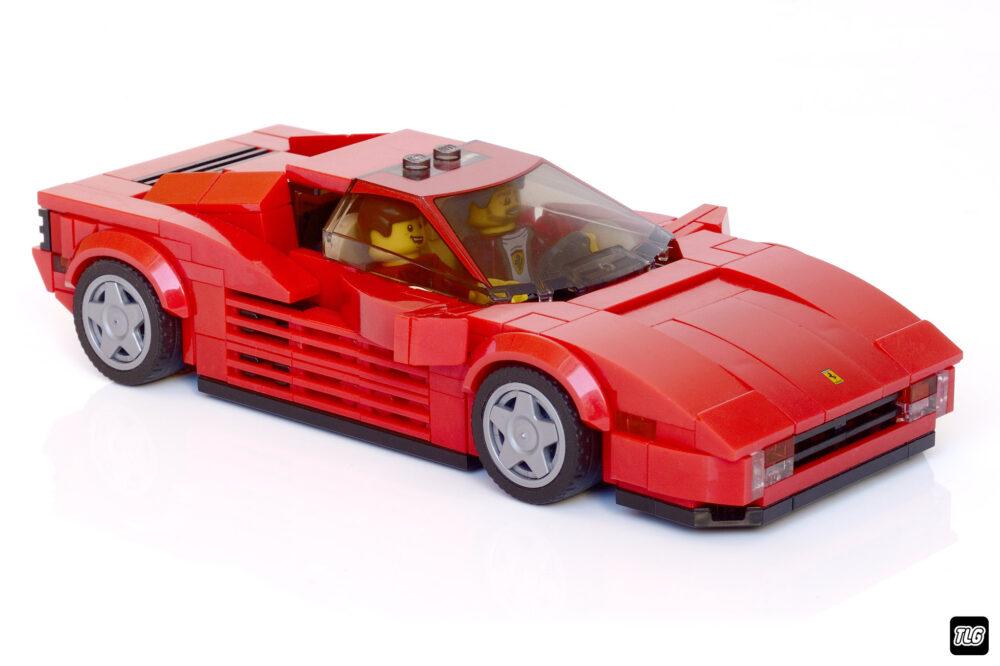 LEGO Ferrari Testarossa MOC