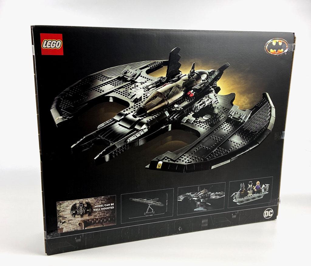 LEGO DC Super Heroes 76161 1989 Batwing Box Back