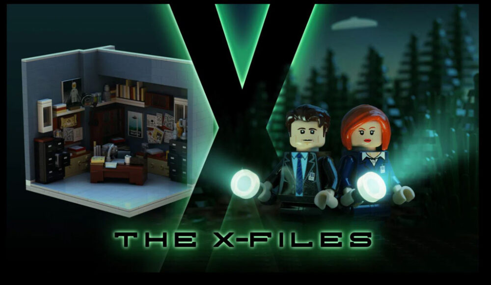LEGO Ideas Entwurf X-Files Brent Waller
