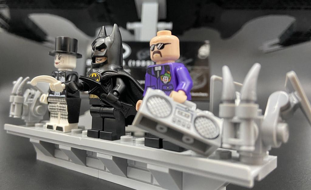 LEGO DC Super Heroes 76161 1989 Batwing Minifiguren Batman Joker Lawrence