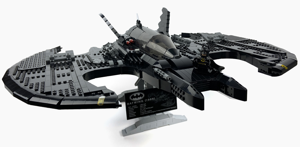 LEGO DC Super Heroes 76161 1989 Batwing Vollansicht