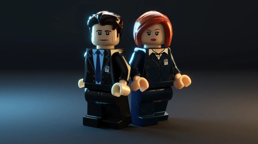 LEGO Ideas Entwurf X-Files Brent Waller Minifiguren Mulder und Scully
