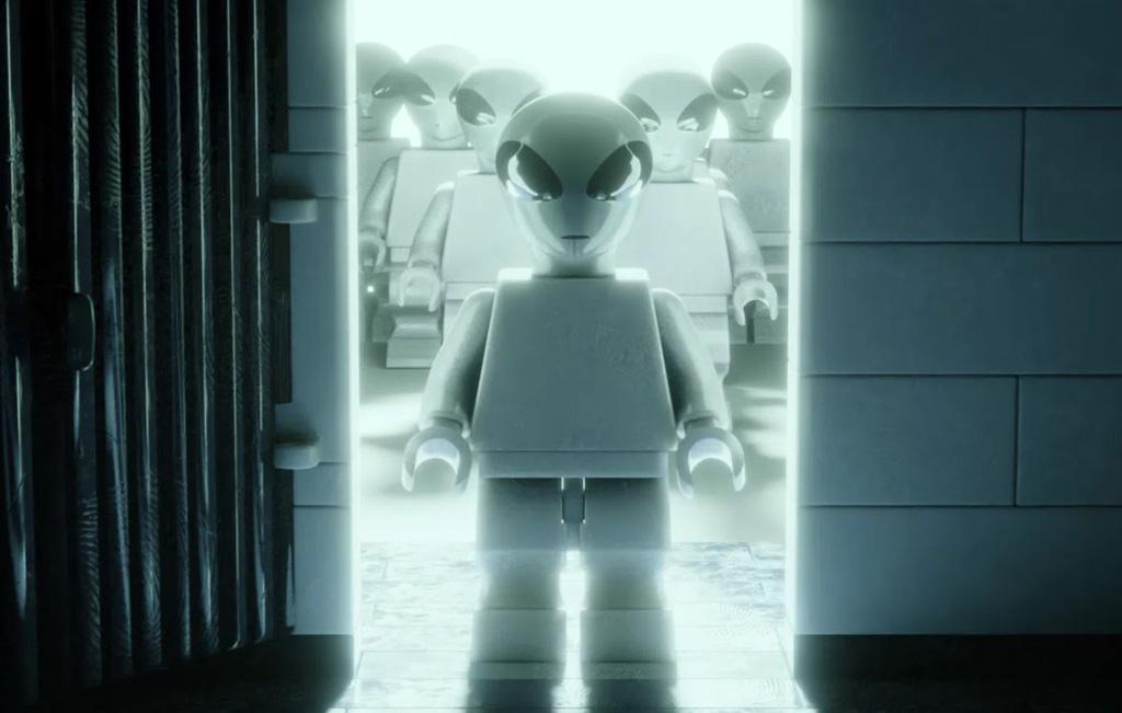 LEGO Ideas Entwurf X-Files Brent Waller Minifigure Alien