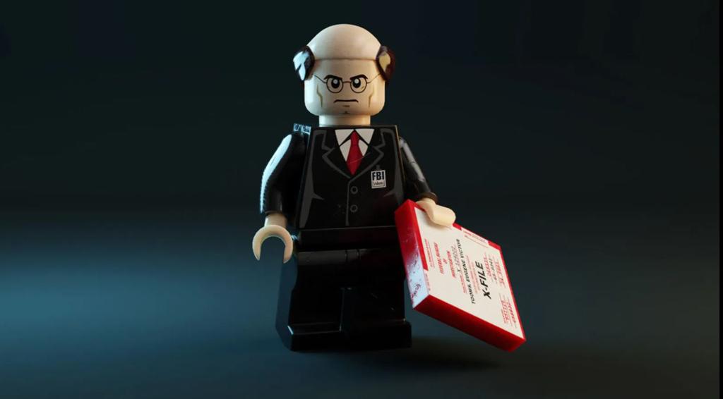 LEGO Ideas Entwurf X-Files Brent Waller Minifigur Walter Skinner