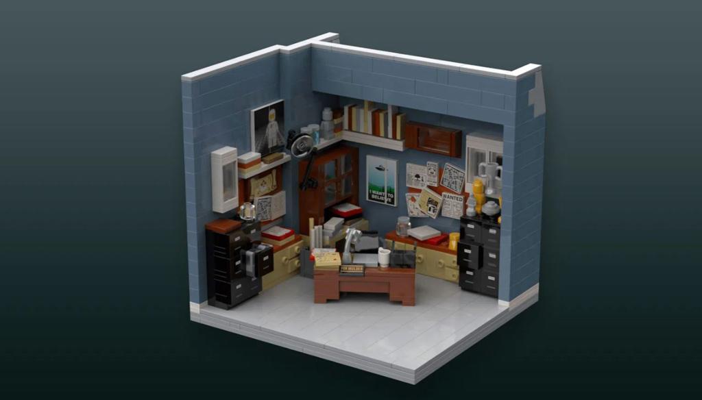 LEGO Ideas Entwurf X-Files Brent Waller Mulders Office
