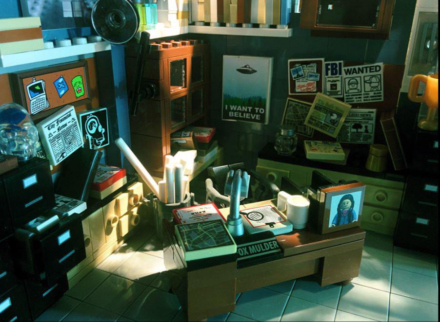 LEGO Ideas Entwurf X-Files Brent Waller Mulders Büro