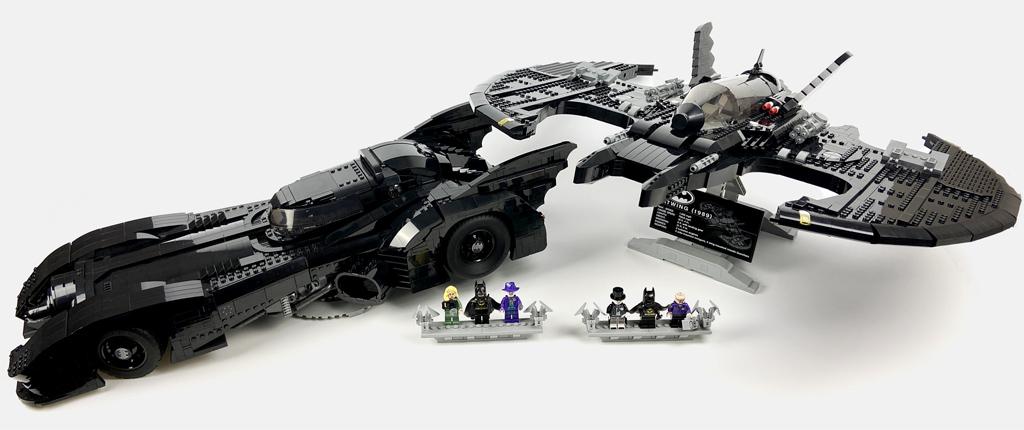 LEGO DC Super Heroes 76161 1989 Batwing und 76139 1989 Batmobile