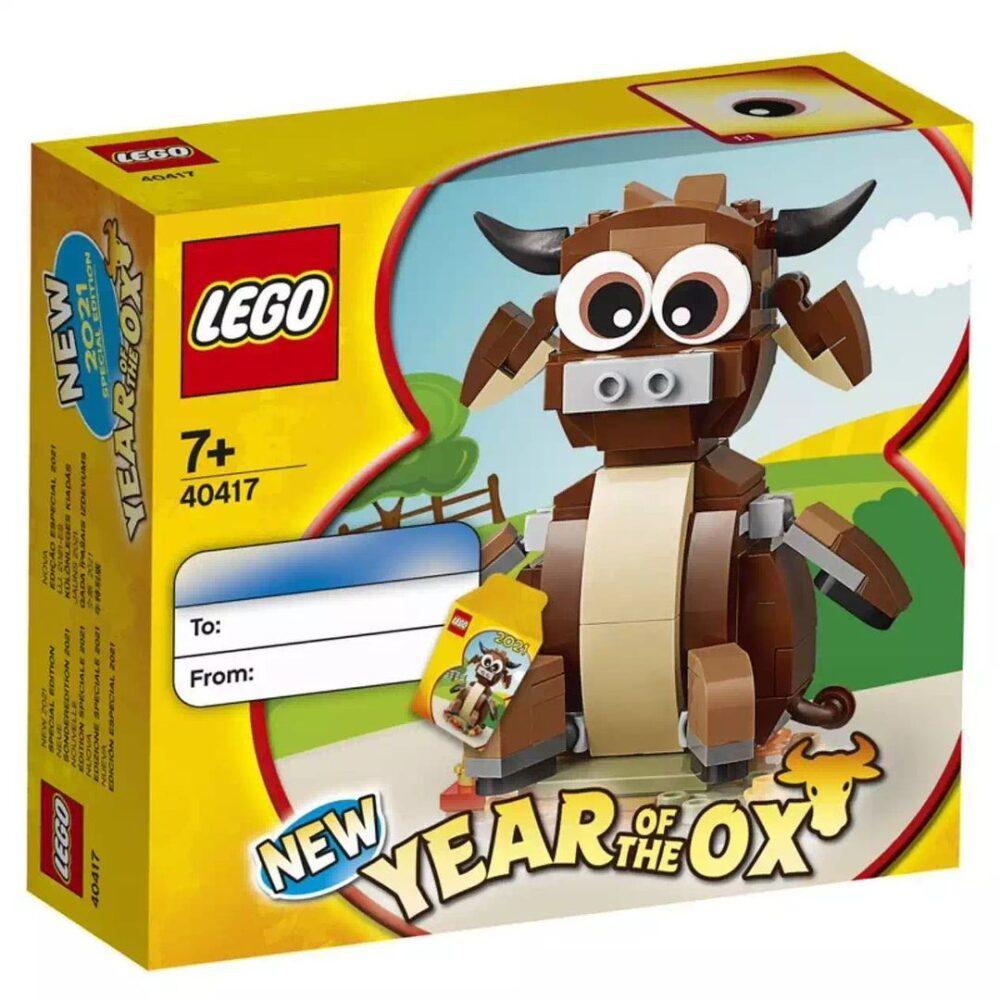 LEGO 40417 Das Jahr des Ochsen
