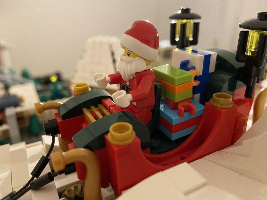 Motorisierter Schlitten MOC by JK Brickworks
