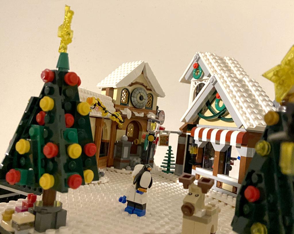 LEGO Werkstatt und Spielzeugladen