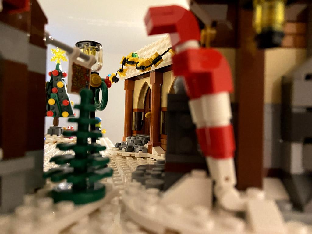 LEGO Creator 10245 Weihnachtliche Werkstatt
