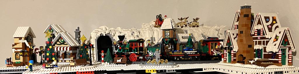 Stein auf Steins LEGO World Weihnachtsdorf