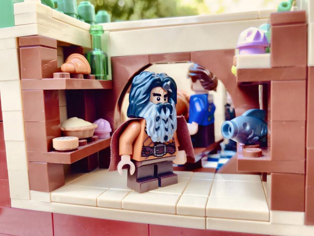 LEGO Ideas Entwurf The Shire The Hobbit Beutelsend TB Brickcreator Speisekammer