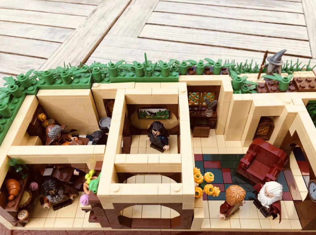 Lego Ideas The Shire Nimmt Die Hurde Von 10 000 Unterstutzer Zusammengebaut