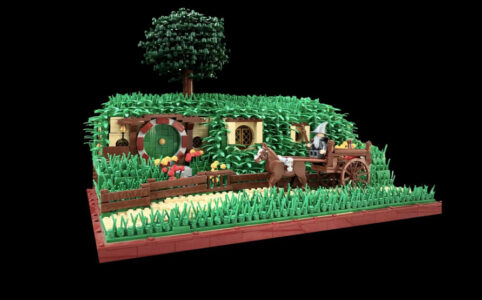 LEGO Ideas Entwurf The Shire The Hobbit Beutelsend TB Brickcreator