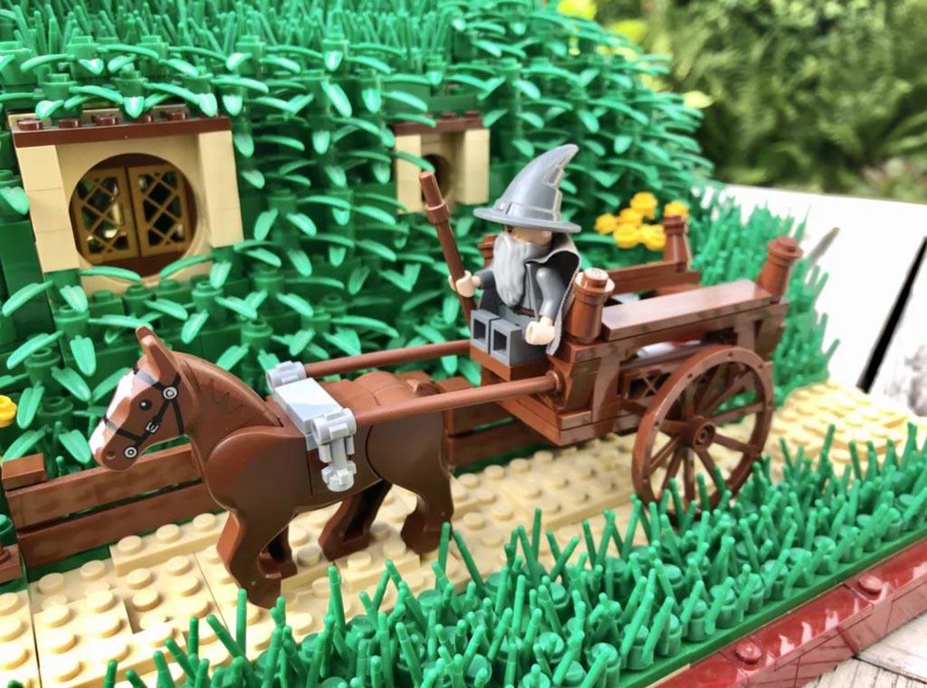 LEGO Ideas Entwurf The Shire The Hobbit Beutelsend TB Brickcreator Gandalf