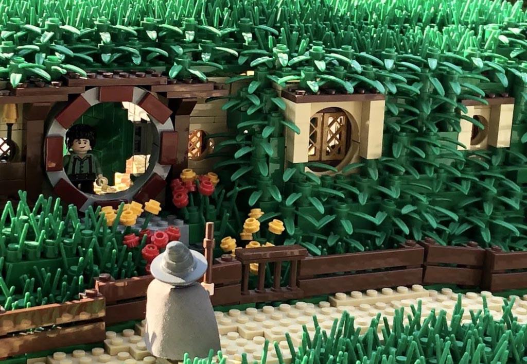LEGO Ideas Entwurf The Shire The Hobbit Beutelsend TB Brickcreator