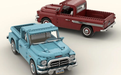 LEGO Ideas GMC - Blue Chip 100 [1957]