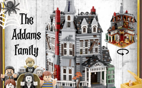 LEGO Ideas The Addams Family Mystery Mansion