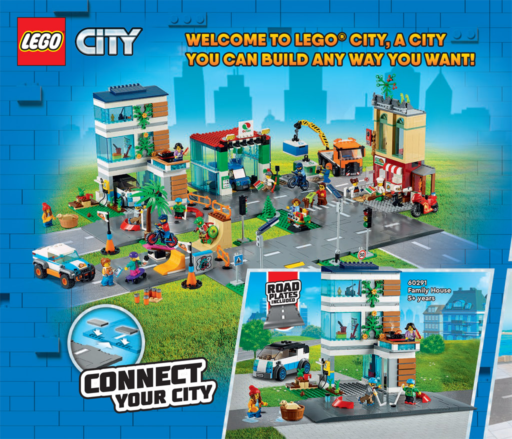 LEGO City mit neuen Straßen