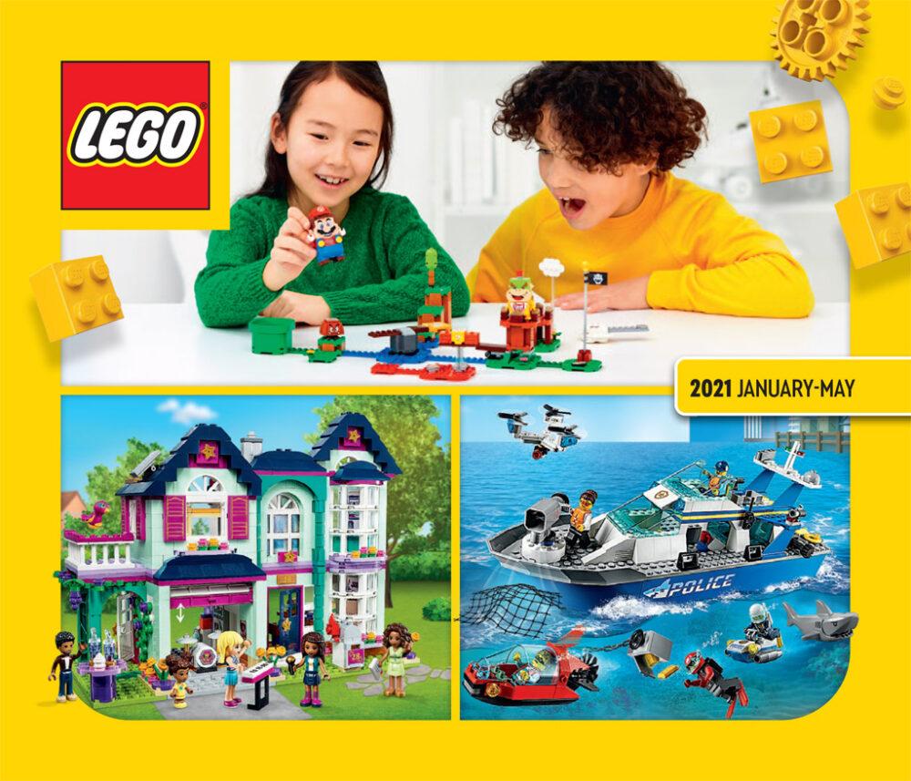 LEGO Katalog 2021 Januar bis Mai zum Download