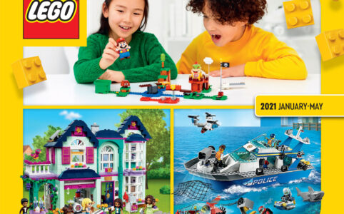 LEGO Katalog 2021 Januar bis Mai zum Download