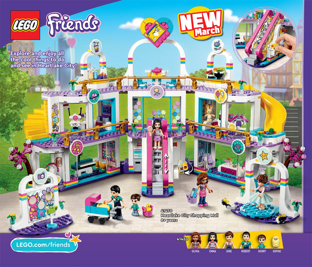 LEGO Friends 41450 Heartlake City Shopping Mall