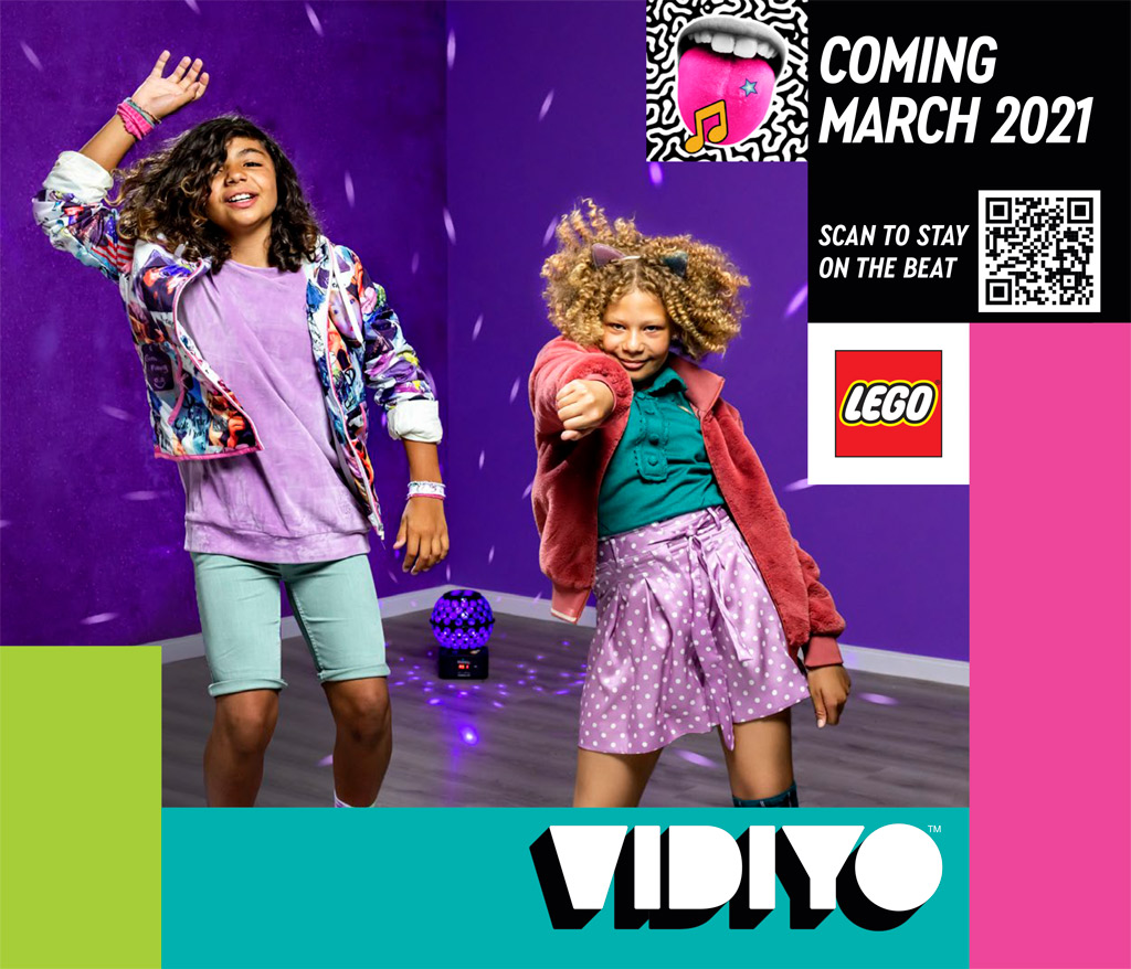 Neuheit im März: LEGO Vidiyo
