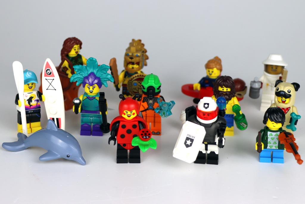LEGO Minifiguren 71029 Serie 21