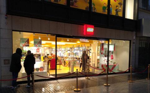 LEGO Store Hannover in der Großen Packhofstraße