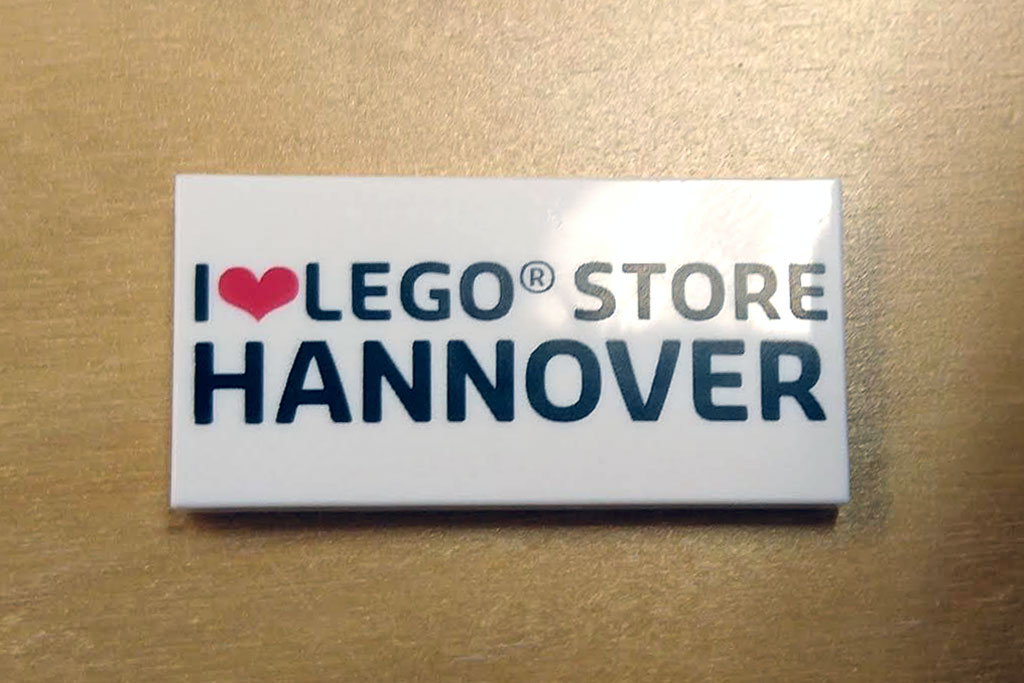Exklusive LEGO Store Hannover Fliese