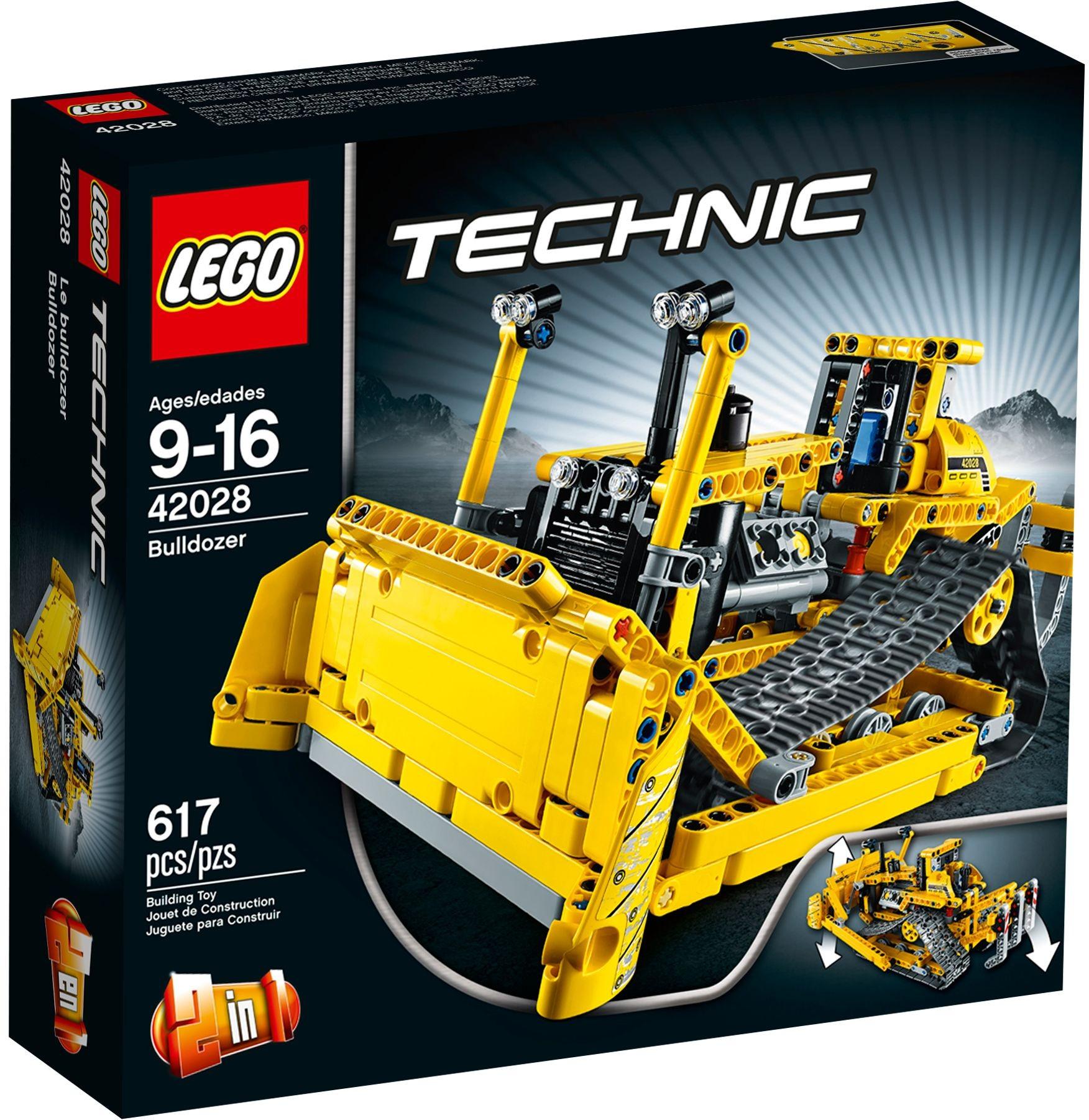 LEGO Technic 42028 Bulldozer aus dem Jahre 2014