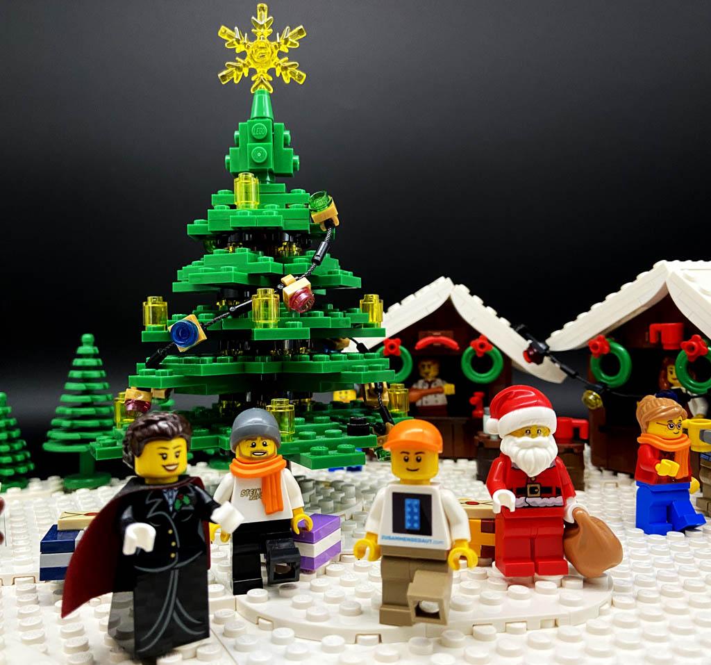 Stein auf Steins LEGO World: Der Weihnachtsmarkt