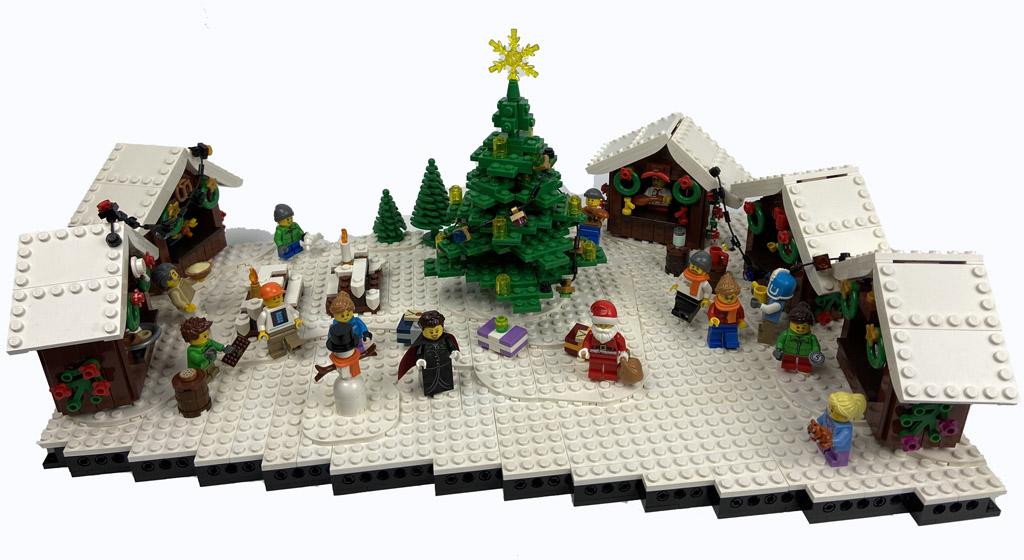 Stein auf Steins Weihnachtsmarkt MOC