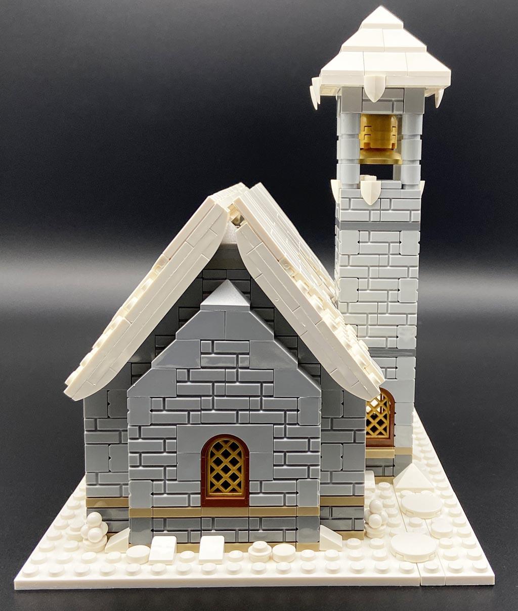 LEGO MOC Stein auf Stein Bergkapelle Mountain Chapel