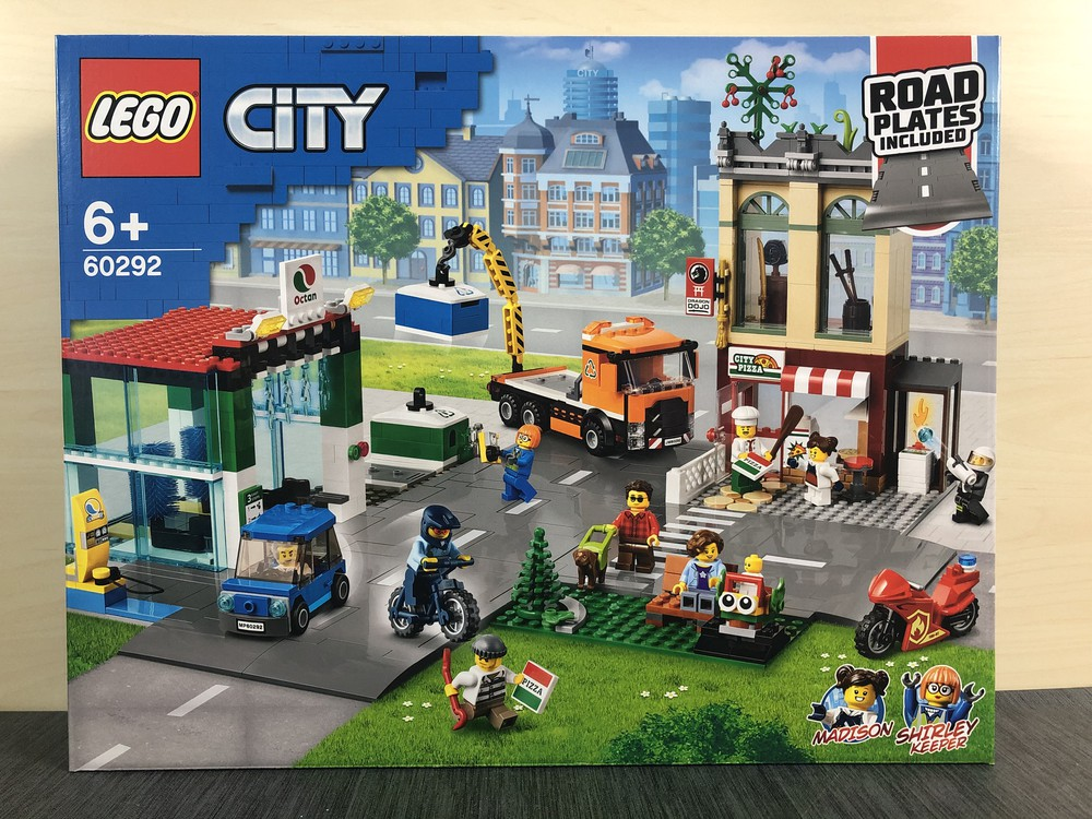 Vorderseite Verpackung LEGO City 60292 Stadtzentrum