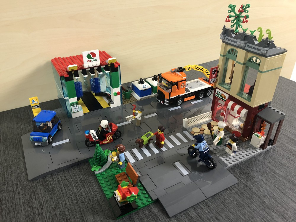 LEGO Set 60292 vollständig zusammengebaut
