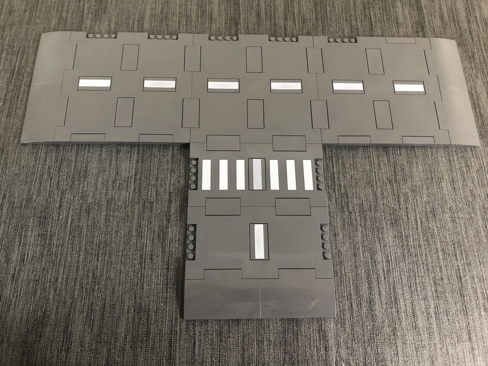 Neue LEGO Straßenplatten ohne Zubehör