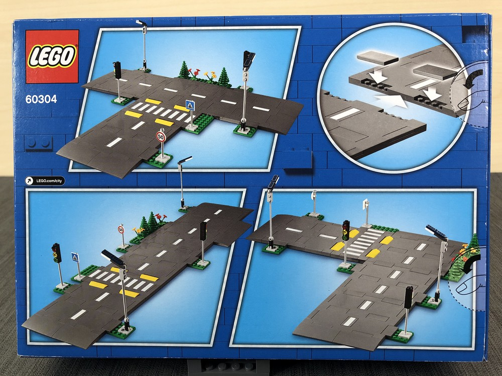 LEGO Set 60304 von der Rückseite