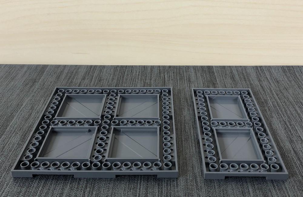 Rückseite der neuen LEGO Straßenplatten