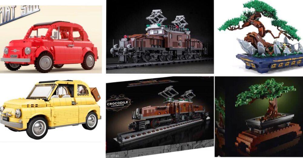Vergleich: Ideas Projekte und LEGO Sets