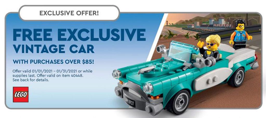 LEGO Ideas 40448 Oldtimer