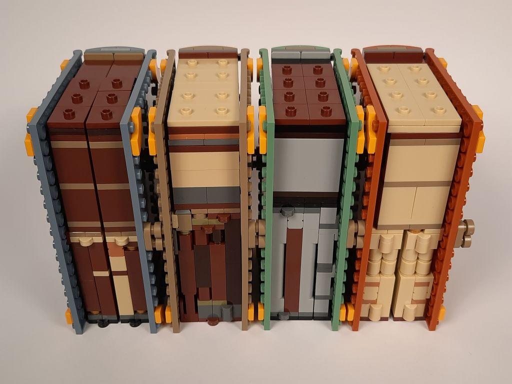 LEGO Harry Potter Hogwarts Moments alle Bücher