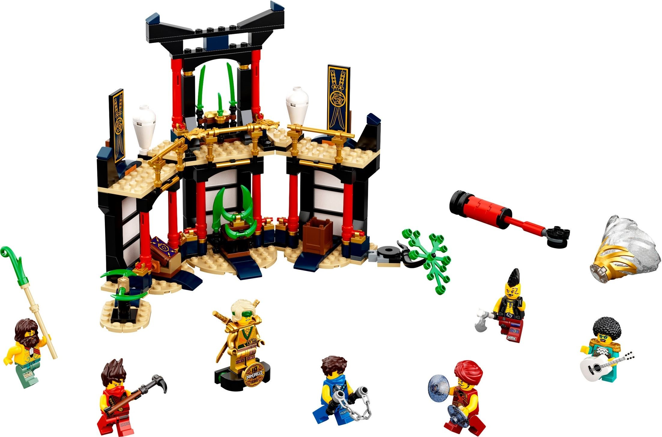 LEGO Ninjago 71735  Legacy Tournament of Elements