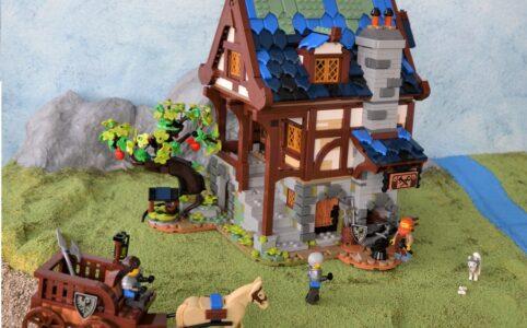 Eine Homage an die Castle Reihe: LEGO Ideas 21325 Mittelalterliche Schmiede